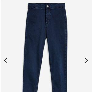 Top Shop Joni Indigo Jeans